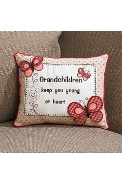 Grandchildren Cushion Butterfly