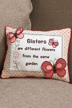 Sister Cushion Butterfly