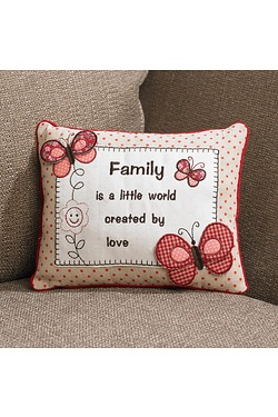 Family Cushion Butterfly