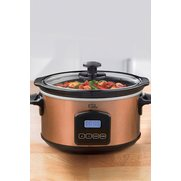 EGL Copper Coloured Slow Cooker