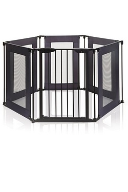 Dreambaby Grey/Black Mesh Playpen