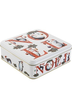 St Kew 'Noel' Embossed Keepsake Tin