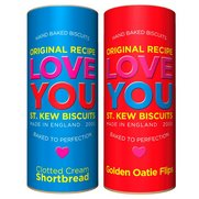 St Kew Love You Biscuits Twin Pack