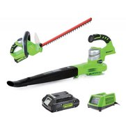 Greenworks Cordless Hedge Trimmer W...