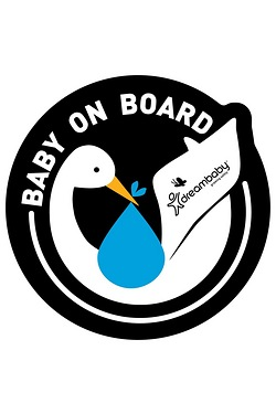 Dreambaby 2 Baby On Board Sign
