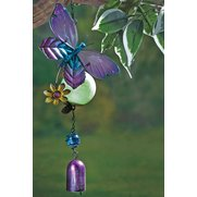 Glow In The Dark Butterfly Windchime