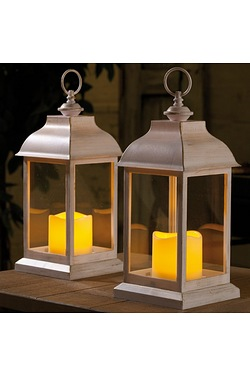 Pack Of Two Dorset Lanterns