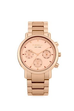 Fiorelli Rose Gold Bracelet Watch