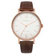 Fiorelli Leather Strap Watch