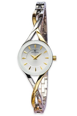 Ladies Accurist Two Tone Watch