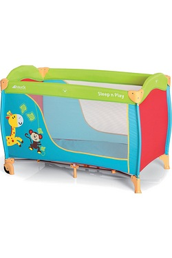 Hauck Sleep 'n' Play Travel Cot Jungle Fun
