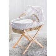 Elephant Moses Basket & Folding Stand
