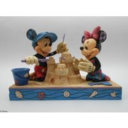 Mickey & Minnie Seaside Figurine