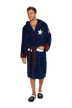 Captain America Civil War Bathrobe
