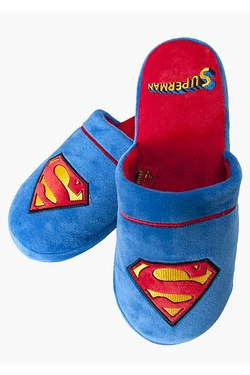 Superman Slip-On Slippers