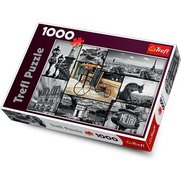 1000 Pieces Paris Collage Puzzle