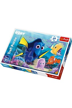 24 Piece Finding Dory Maxi Puzzle