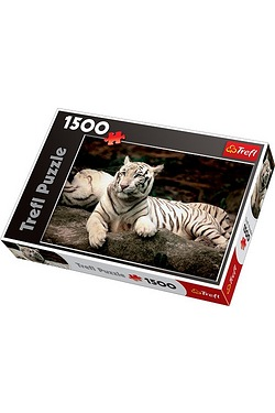 1500 Piece White Tiger Puzzle