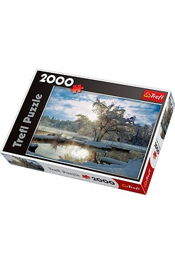 2000 Piece Dawn At The Lake Puzzle
