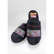 Marvel Logo Slip-On Slippers