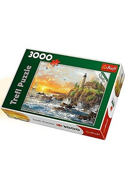 3000 Piece Puzzle - Sunset By The R...