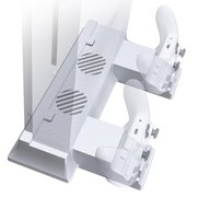 Xbox One S: White Vertical Stand Wi...