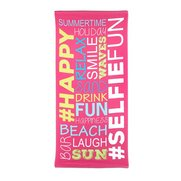 Summertime Fun Beach Towel
