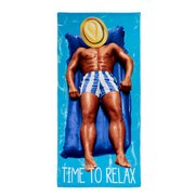 Time To Relax Beach Towel