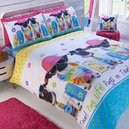 Summer Pug Duvet Set