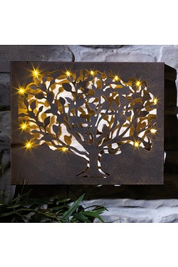 Silhouette Tree LED Wall Decor