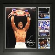 Anthony Joshua Signed Image Framed