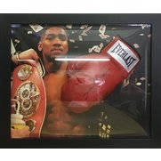 Anthony Joshua Signed Glove/Domed