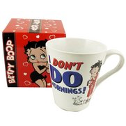Betty Boop I Don't Do Mornings Mug