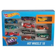 Mattel Hot Wheels 10 Car Gift Set