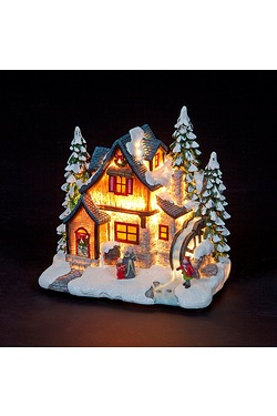 23cm Christmas White House