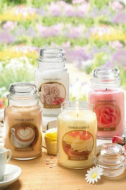 Set of 4 Yankee Candles