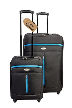 2 Piece Soft Luggage Set