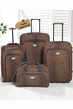 4 Piece Leopard Set