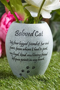 Pet Vase - Beloved Cat