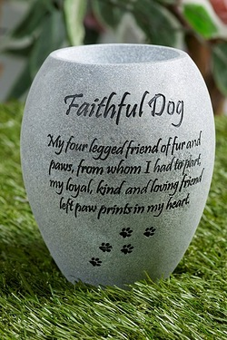 Pet Vase - Faithful Dog