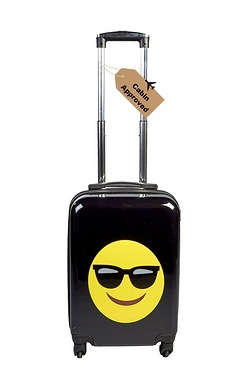 Emoji Luggage Case