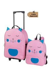 Backpack and Trolley Set - Cat