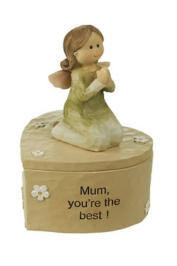 Angelic Thoughts Trinket - Mum