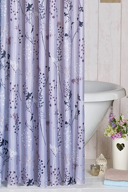 Flower Burst Shower Curtain
