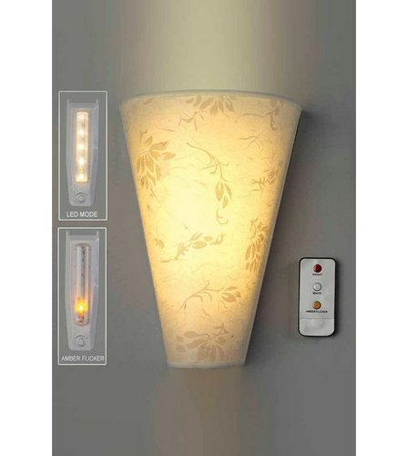 Battery operated wall light and remote control studio image for battery operated wall light and remote control from studio aloadofball Image collections