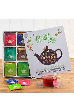 English Organic Tea Shop Tin