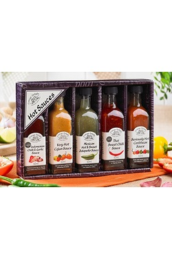 Cottage Delight Hot and Spicy Sauces