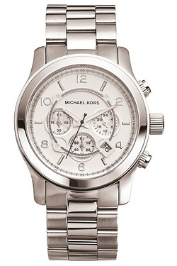 Michael Kors Runway Silver Watch