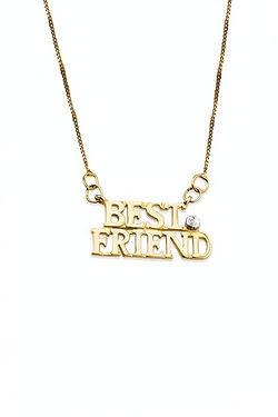 9ct Gold Friend Pendant