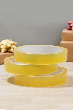 3 Pack Of Clear Tape